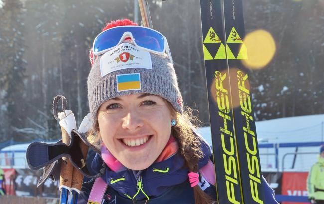 """Біатлон: Юлія Джима виграла своє перше """"золото"""" у індивідуальній гонці на Кубку світу в Словенії"""