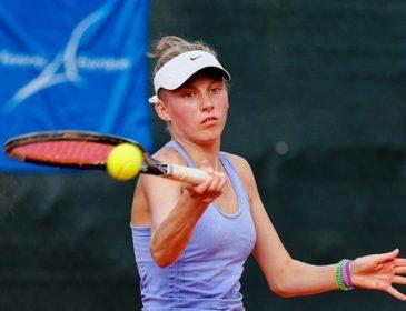 Українська тенісистка отримала свій перший титул у спортивній кар`єрі