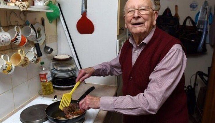 «Я можу сказати, що секрет довголіття в двох простих речах»: 100-річний англієць розкрив секрет довгого життя