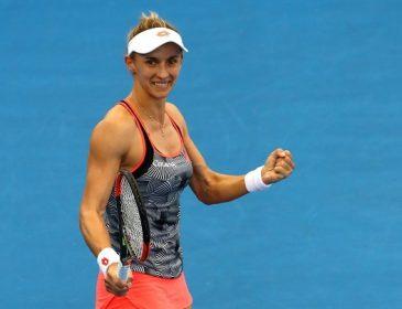 Українка Леся Цуренко з перемоги над росіянкою стартувала на Australian Open