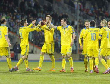 Українська збірна здобула рекордне місце у рейтингу ФІФА за останні 4 роки
