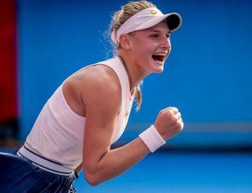 18-річна тенісистка Даяна Ястремська впевнено пробилася в чвертьфінал турніру WTA