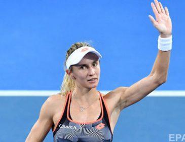 Українська тенісистка Леся Цуренко поступилась восьмій ракетці світу у фіналі WTA Premier