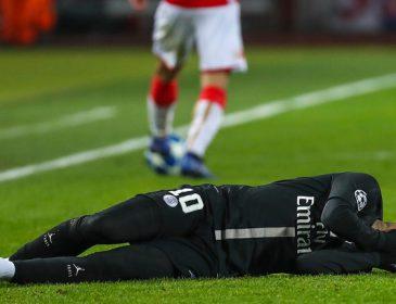Неймар зі сльозами на очах покинув футбольне поле посеред матчу кубка Франції