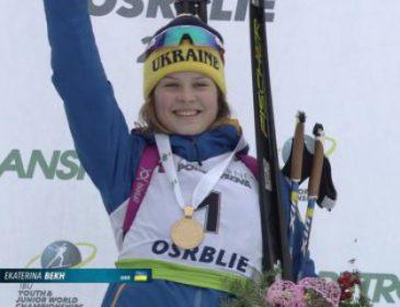 20-річна українка Бех завоювала путівку на Кубок світу з біатлону