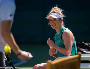 Українка Еліна Світоліна впевнено вийшла у півфінал турніру в Дубаї