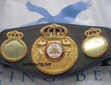 """""""Нарешті мрія збулася"""": Український боксер отримав свій чемпіонський пояс WBA"""